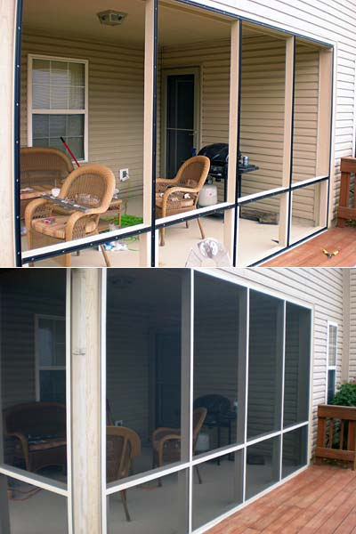 ... New Screened Porch.