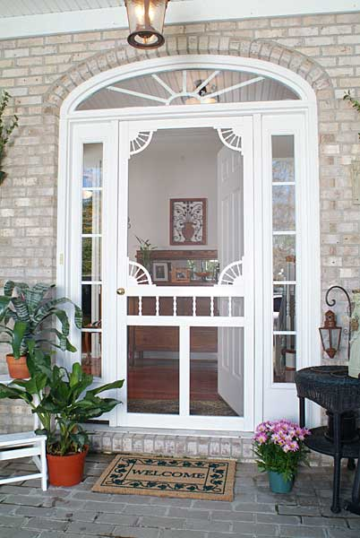 Solid Vinyl Screen Doors Gallery Screen Tight