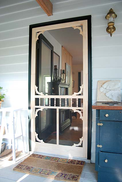 Wood screen doors gallery tight