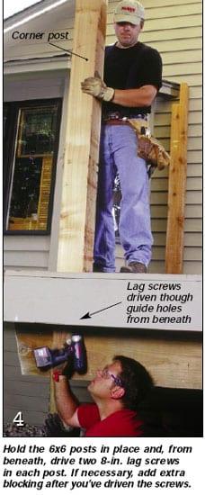 Photo 4 - Lag Screws