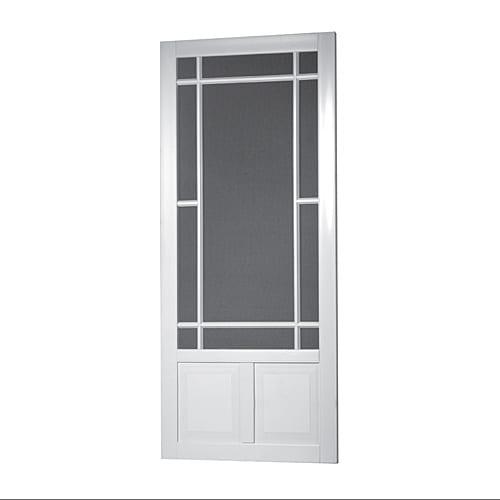 Solid Vinyl Screen Door Models Screen Tight