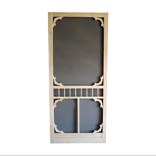 Wood screen door models tight
