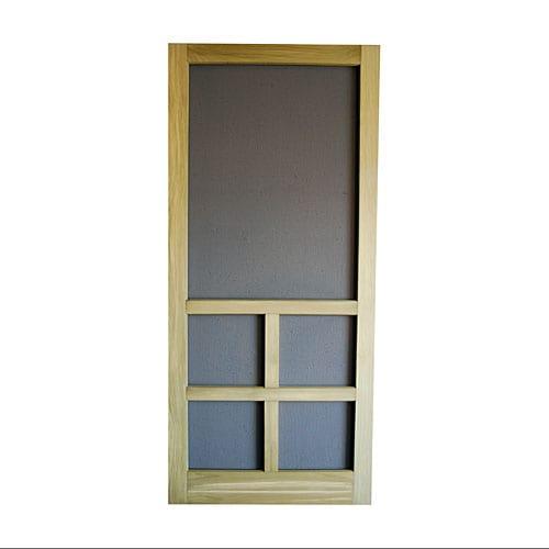 Pressure Treated Wood Screen Door Models Screen Tight