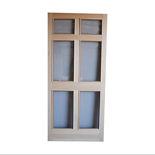 Wood Storm Doors : Wood screen door models tight