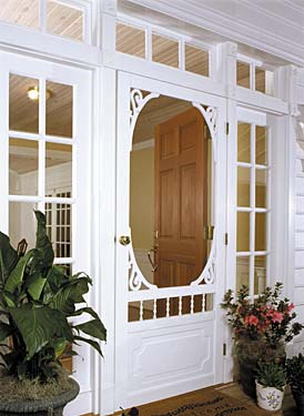 Solid Vinyl Screen Doors | Screen Tight