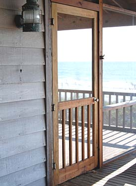Pressure Treated Wood Screen Doors Screen Tight