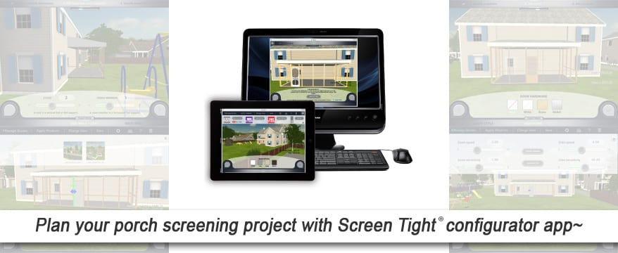 Screen Tight configurator app