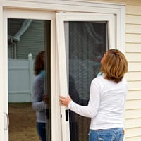 How To Install Patio Matic Screen Door Modern Patio