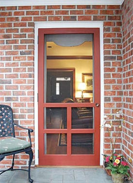 Screen Door Designs on These Wood Screen Doors Feature Outstanding Craftsmanship That Are