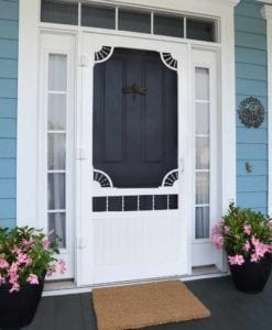 Laurel Bay Screen Door