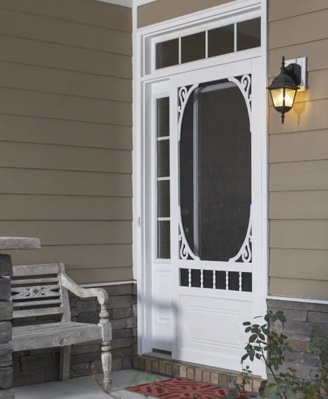 Screen Doors Solid Vinyl Wood And Pressure Treated