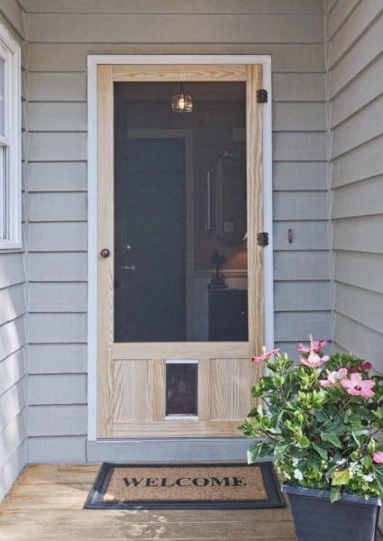 Chesapeake Pet Door in Wood