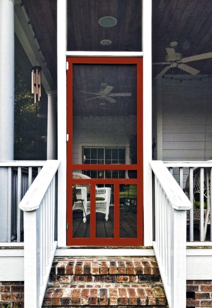 Screen Doors - Solid Vinyl, Wood, and Pressure Treated Wood Doors