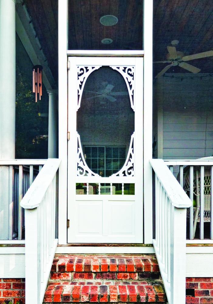 9d9b4dce2bf Georgian White Vinyl Screen Door