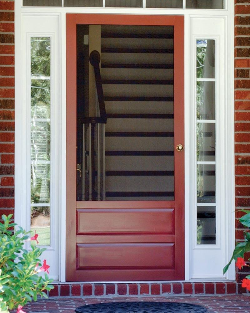 Screen Doors - Solid Vinyl, Wood, and Pressure Treated Wood