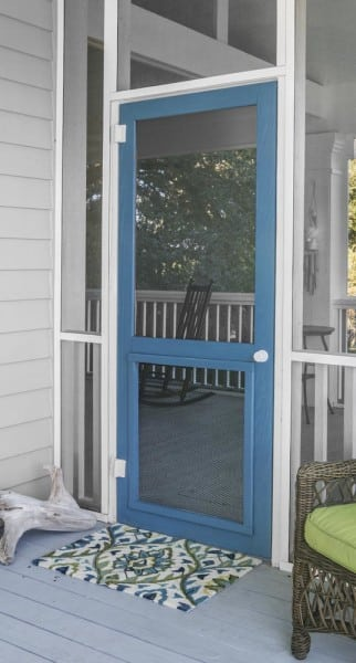 Woodcraft Wood Screen Door with Inserts