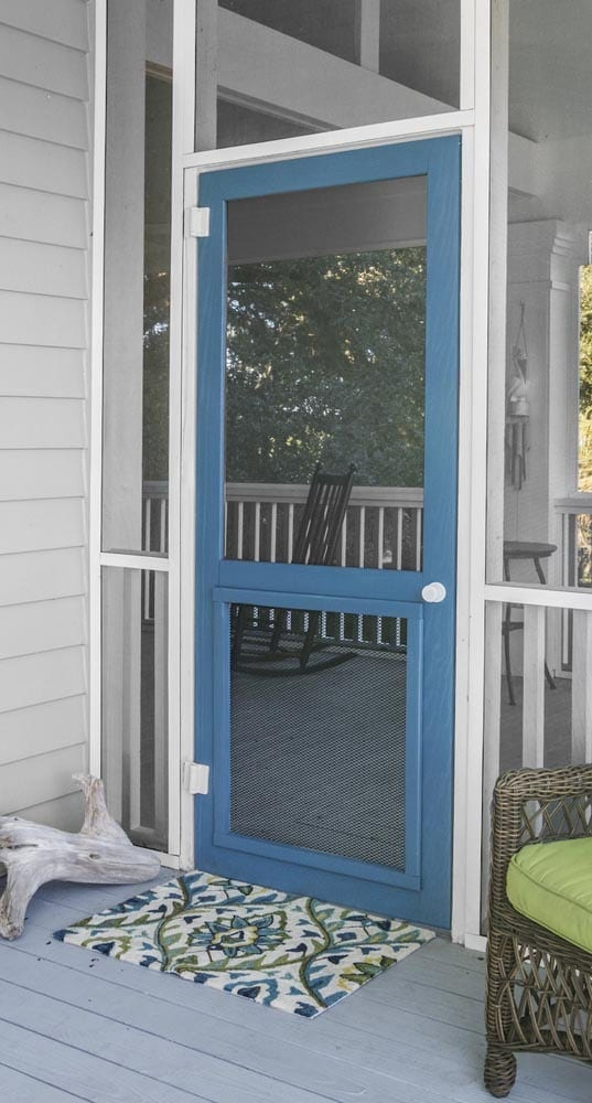 Woodcraft Wood Screen Door with Inserts & Screen Doors - Solid Vinyl Wood and Pressure Treated Wood Doors pezcame.com