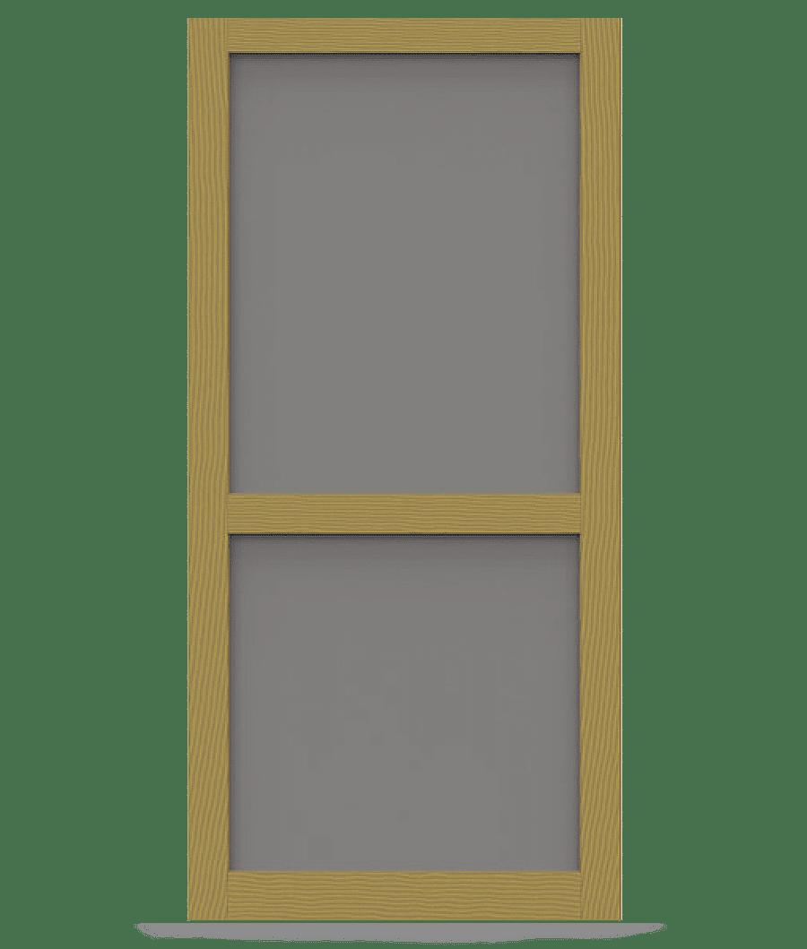 Liberty pressure treated wood screen door screen tight for Wood screen doors