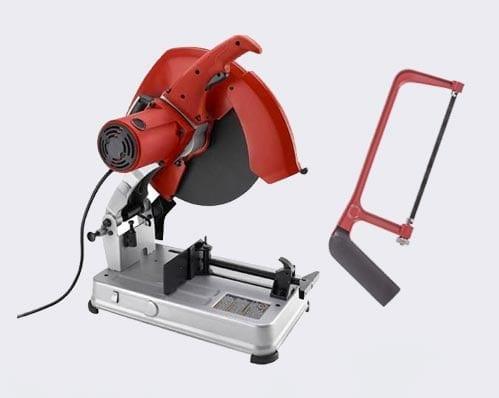 Chop Saw or Hacksaw