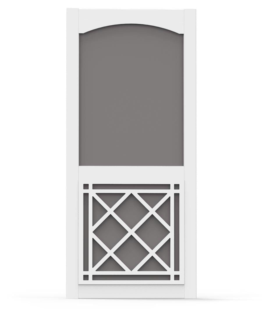 Vinylcraft Door with Arch Trim and St Augustine Insert ...