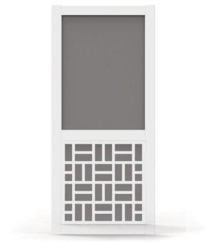 Prairieview White Vinyl Screen Door. Screen Doors Amazing Design