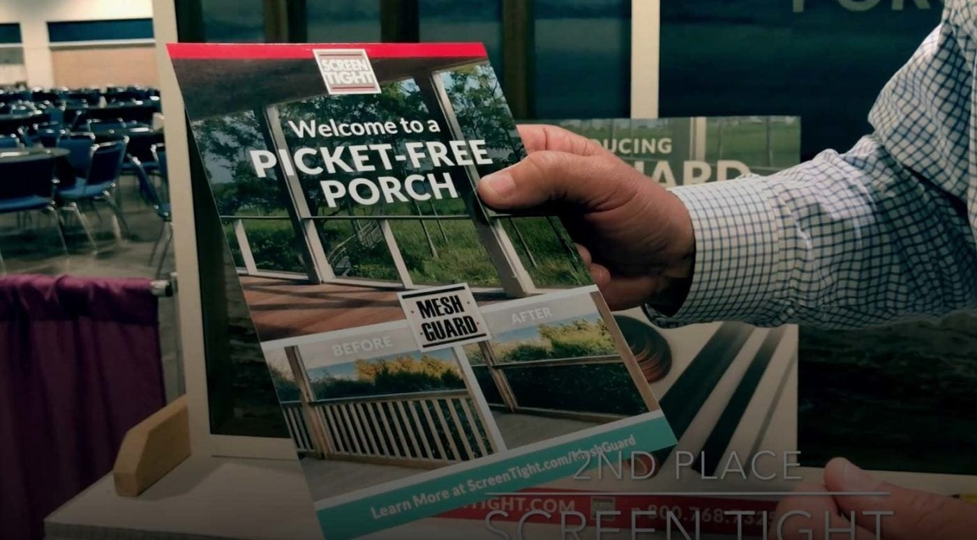 Picket Free Porch
