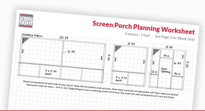 Screen Porch Planner