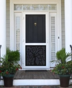 Oak Tree Insert Screen Door