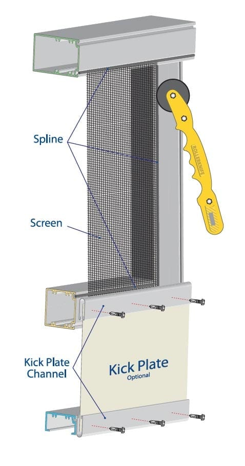 Screen Enclosure Kickplate