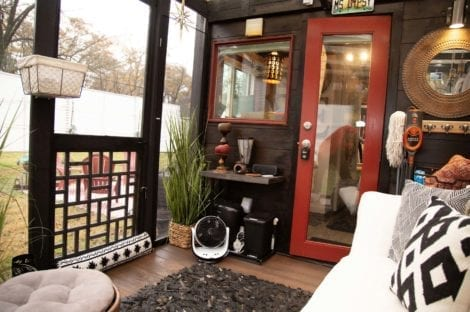 Tiny House Screen Porch