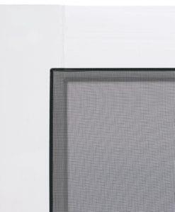 Chippendale Black Insert Vinylcraft Screen Door Screen Tight
