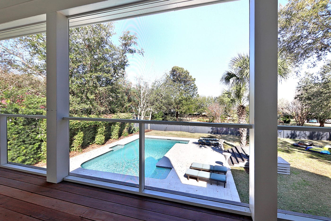 MeshGuard Unobstructed Pool View