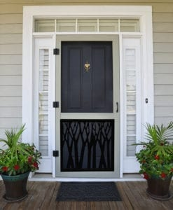 Timber Screen Door