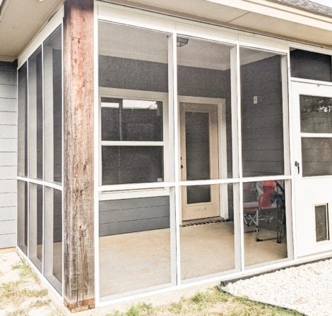 Easy Screen Porch Systems And Doors For Diy Homeowners