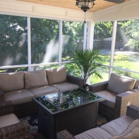 Screen Porch Backyard Retreat