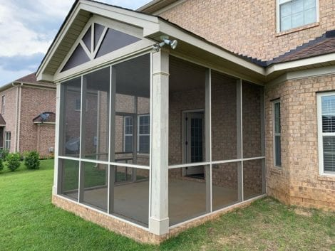 Screened-in Patio haven