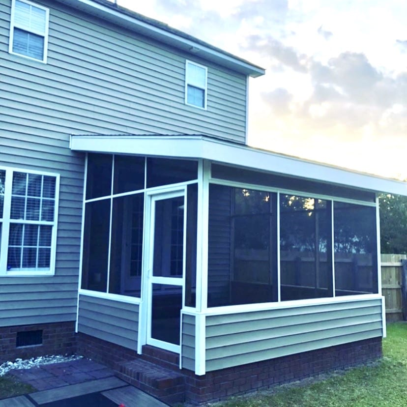 Quick Screened Patio Project