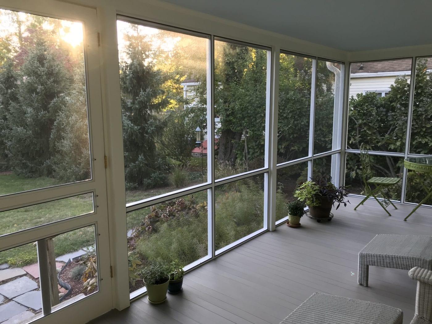 Serene Screen Porch